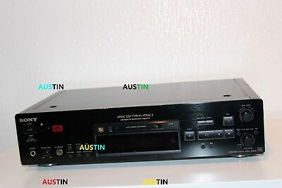Sony Mds Jb 940  Minidisc Stereo Player, Recorder Md With Free Flight Case
