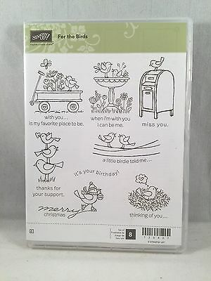 FOR THE BIRDS Stampin Up New Christmas Birthday Thank You Miss You Support