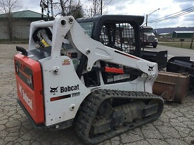 Bobcat T590 Skid Steer, Smooth Or Tooth Bucket, 100 Hours. Nice Unit.