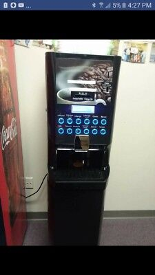 Refreshment Machinery Industries Hot Beverage Drink Coffee Vending Machine