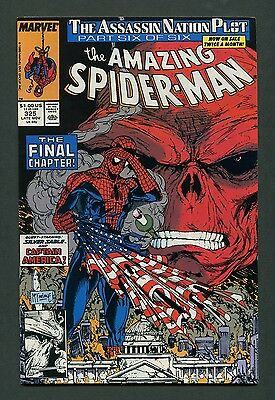 Amazing Spiderman #325 (1989) Todd McFarlane / Red Skull  9.2 - 9.4