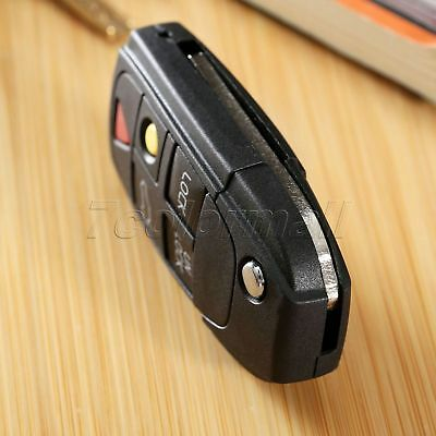Remote 5 Buttons Key Shell Case Fob Replacement for VOLVO S60 S80 V70 XC70 XC90