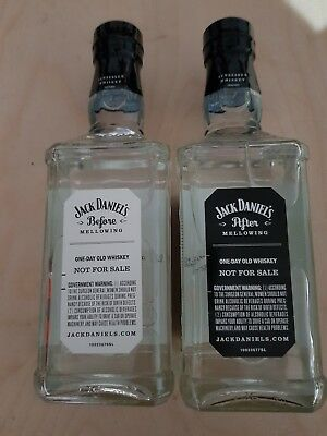 Jack Daniel's Before und After
