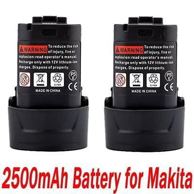2x10.8V 2.5AH Li-ion Battery for Makita BL1013 BL1014 LCT203W 194550-6 194551-4