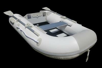 Newport 2.30m Inflatable Boat with Timber Slat Floor - 2 Year Warranty