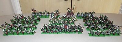 Warhammer Games Workshop Fantasy Painted Orc & Goblin Army
