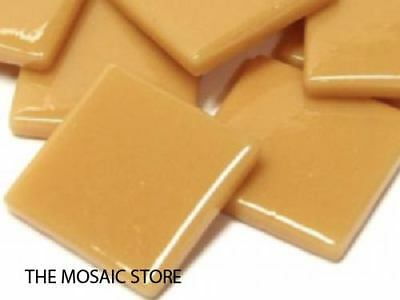 Toffee Gloss Glass Tiles 2.5cm - Mosaic Tiles Art Craft Supplies