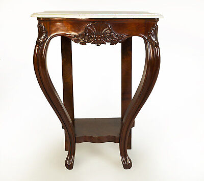 Wonderful Classic Antique / Victorian Mahogany Console Table Circa 1870