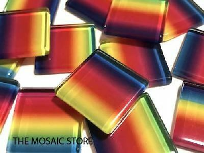 Colour Combination Glass Mosaic Tiles 2.5cm (No. 5) - Supplies Craft Art