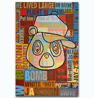 60012 Kanye West Yezzy USA Rap Music Cover Wall Print Poster AU