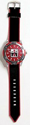 Key Enterprises IH Logo Sport Watch - Black And Red