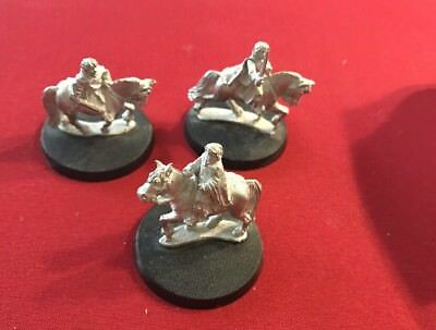 Games Workshop The Lord of the Rings- Konvolut mit 3 Figuren Metall