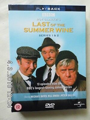 Last Of The Summer Wine Series 1 & 2 DVD Box Set - 4 Discs