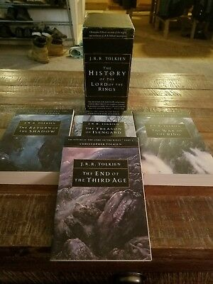The History of the Lord of the Rings Volume 1-4