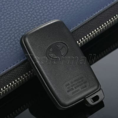 Remote Car Smart Key Case Fob Shell 4 Buttons For Toyota Prius with Uncut Blade