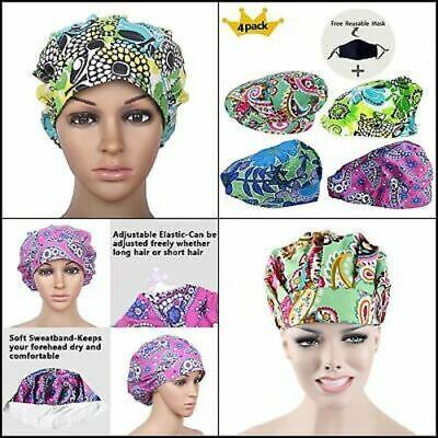 JoyRing Adjustable Surgical Scrub Cap Medical Doctor Bouffant Hats