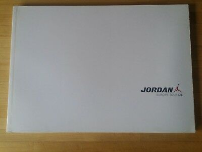 Michael Air Jordan 2006 Pressebuch Press Kit, Rarität, Bildband Europe Tour Nike