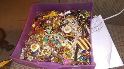 Estate Jewelry Lot ALL Good Wearable Resell Old Vintage Now 12 Pcs NO Junk Box