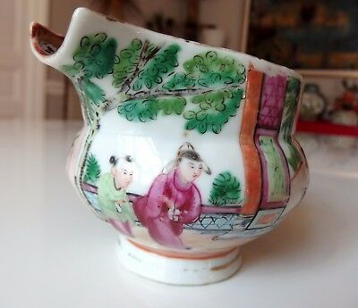 Verseuse Famille Rose - Old chinese porcelain -