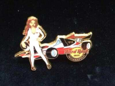 Hard Rock Cafe - Car  Pin Indianapolis