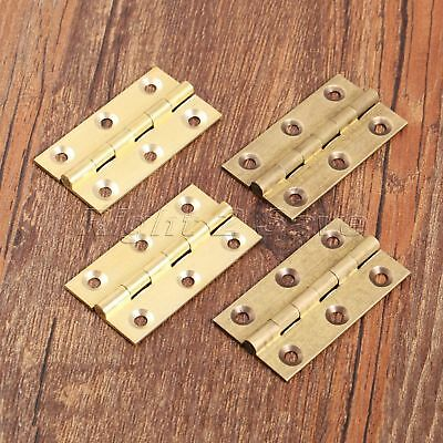 2PC Design Brass Cabinet Door Hinges Folding Table Hinges Furniture Accessory