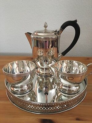 Vintage Silver Plated 3 Piece Coffee/Tea Set
