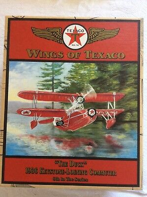 Wings of Texaco 1936 The Duck Keystone-Loening  Airplane Coin Bank 8th in series