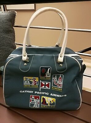 Cathay Pacific Airways Bowlingbag Tasche im Retro-Design Jubiläums-Edition