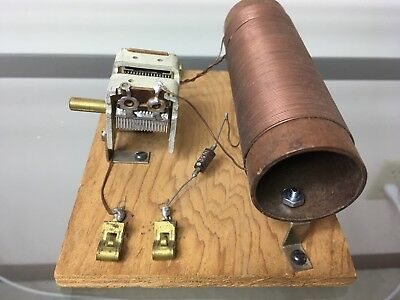 Vintage Crystal Radio Homemade Homebrew Vintage 1N52 Germanium Diode Untested