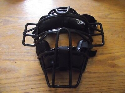 Mint Champro Cm51 Adult Umpire Adjustable Baseball/softball Traditional Mask