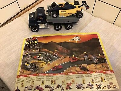 Kenner - M.A.S.K - Mask - Goliath mit Anleitung