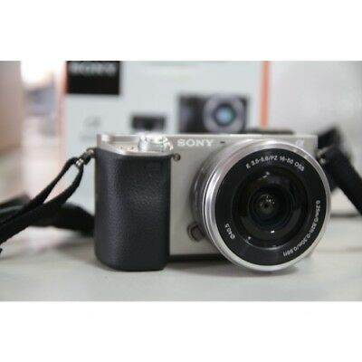 Sony Alpha a6000 24.3MP Mirrorless Digital Camera with 16-50mm Lens Silver