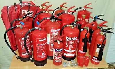 JOB LOT  x17 FIRE EXTINGUISHERS IN DATE SERVICED TAGGED CHARGED FROM SOCIAL CLUB