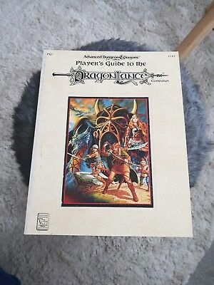AD&D PLAYER'S GUIDE TO THE DRAGONLANCE Campaign  TSR