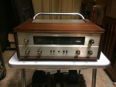Beautiful and mostly original Fisher 400 stereo tube receiver