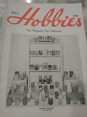 Hobbies The Magazine For  Collectors July 1960