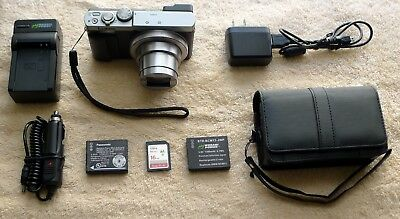 Panasonic Lumix DMC-ZS50S 12.1 MP Digital Camera - Silver- Excellent Condition