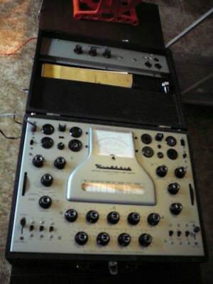 Heathkit TT-1A Mutual Conductance Tube Tester with manuals