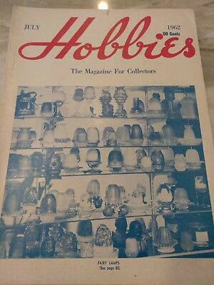 Hobbies The Magazine For  Collectors July 1962