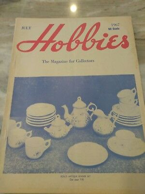 Hobbies The Magazine For  Collectors July 1967