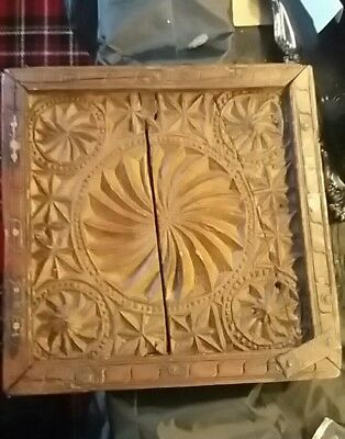 Antique Very Old Detailed Wood Maroccan Door Panel Possibly Early C18th Rare
