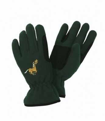 (X-Small, Raspberry) - Equi-Star Childs Pony Fleece Glove. Delivery is Free