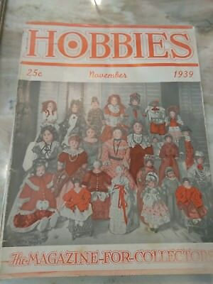 Hobbies The Magazine For  Collectors November 1939