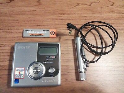 Sony Walkman MZ-NH900 Portable Net MD, Hi MD, Atrac, Recorder, G-Protection Rare