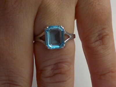 Blue Stone Ring Metal Detecting Find