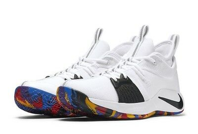 online store 19315 930a9 NIKE ZOOM PG2 PG 2 NCAA March Madness Paul George Multi-Color AJ5163-100