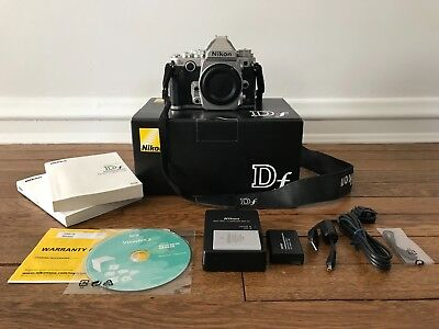 Nikon D Df 16.2MP Digital SLR Camera - Silver (Body Only)