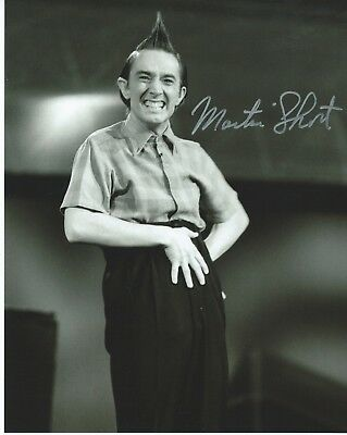 "MARTIN SHORT Hand Signed 8x10"" Autographed Photo w/COA- ED GRIMLEY - SCTV"