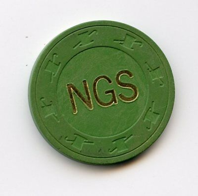 25.00 Chip from the NGS Nevada Gaming School Las Vegas