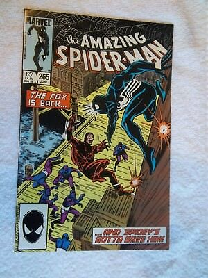 Marvel  Amazing Spider man and 1st Silver Sable 265  NM